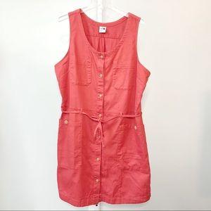 North Face Shirt Dress Size XL